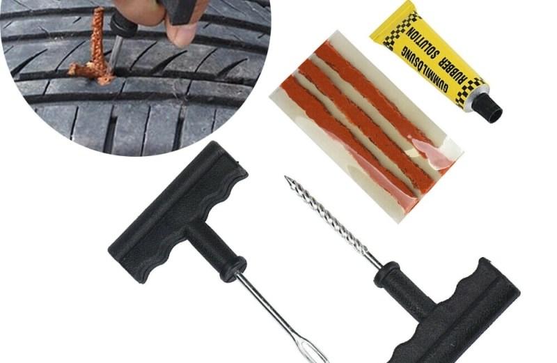 Κιτ Επισκευής Ελαστικών Αυτοκινήτου και Μηχανής 6 Τεμαχίων Tubeless Tire Repair Kit