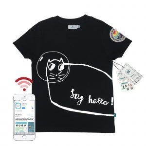t-shirt front cat