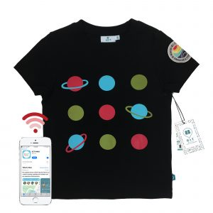 t-shirt front planet