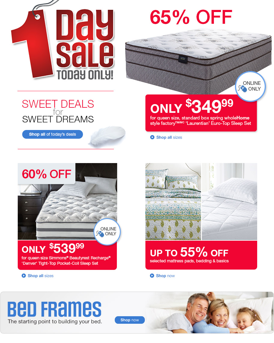 Sears Canada 1 Day Sale Online Save Up To 65 Off Select