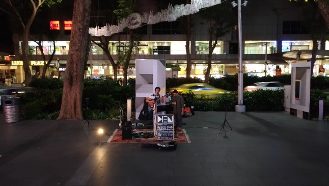 Orchard Road Busking Singapore