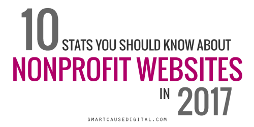 10 stats you should know about nonprofit websites in 2017