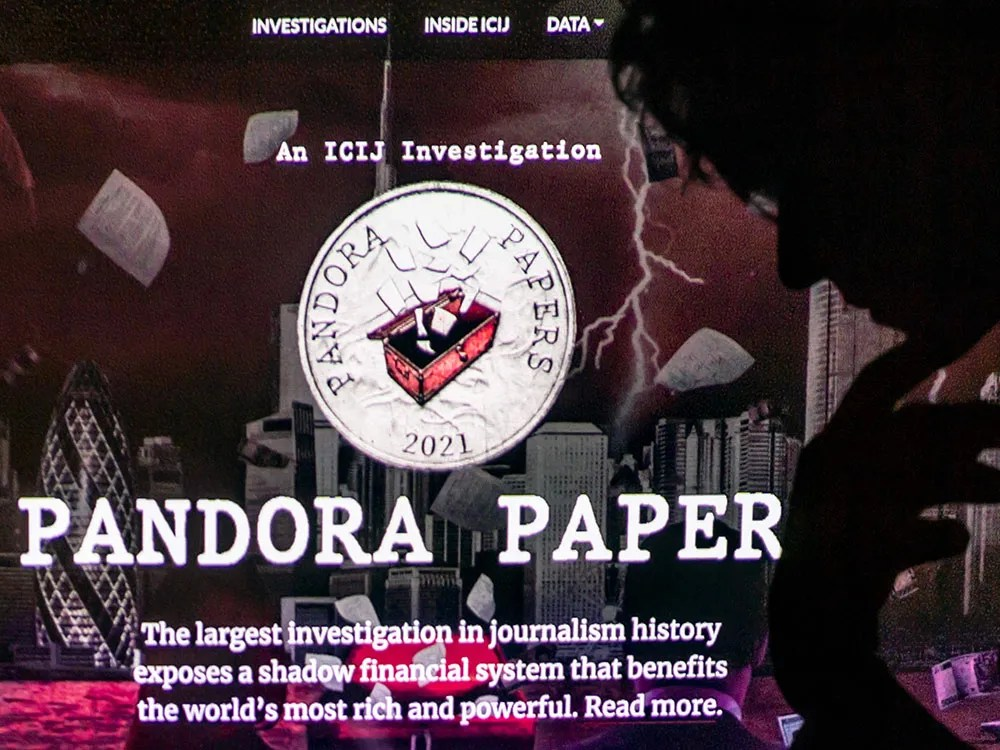 , Terry Glavin: The Pandora Papers — what the rich and powerful don't tell us, Nzuchi Times National News