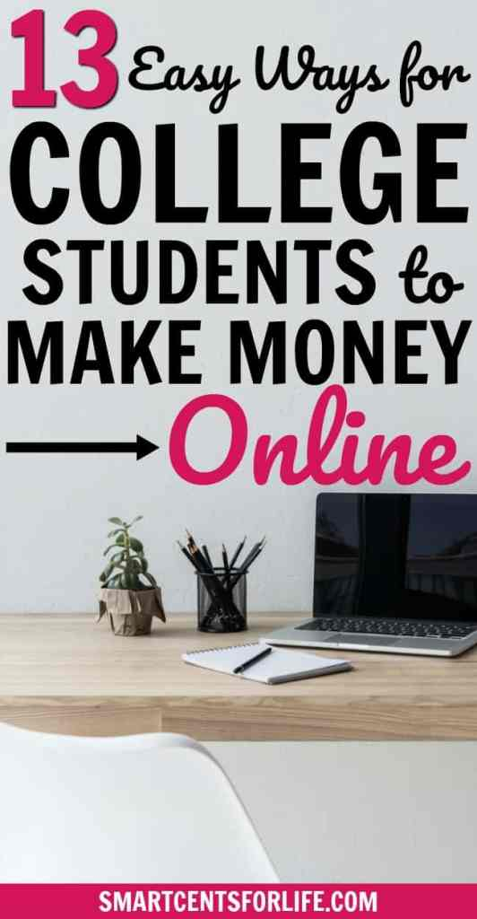 This list contains the best online jobs for college students that will allow you to work from home and make extra money. Legitimate part-time jobs with flexible schedule and most of them don't require previous experience. Stay at home jobs | make money fast | extra cash | make money at home | make money online | earn extra money | side hustle ideas