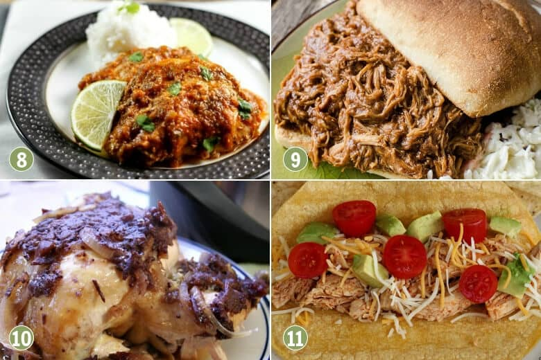 35 Cheap and Easy Crockpot Meals-Chicken Recipes