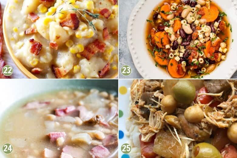 35 Cheap and Easy Crockpot Meals-Soup and Stew Recipes