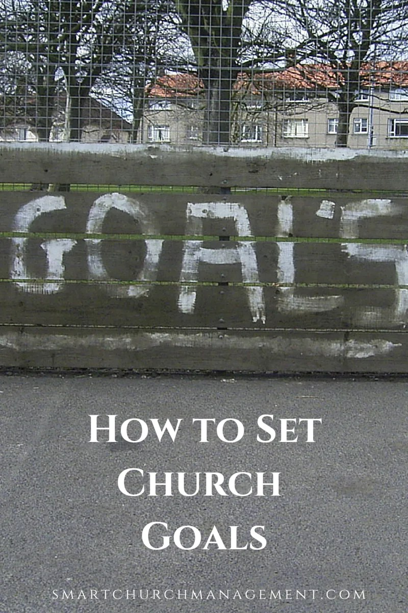church goals and objectives examples
