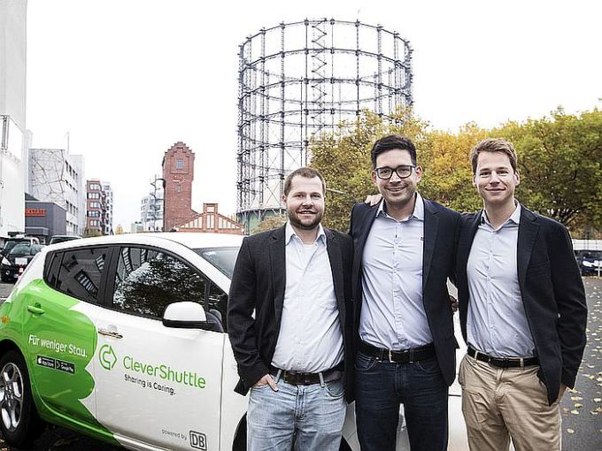 team clevershuttle e-mobility startup