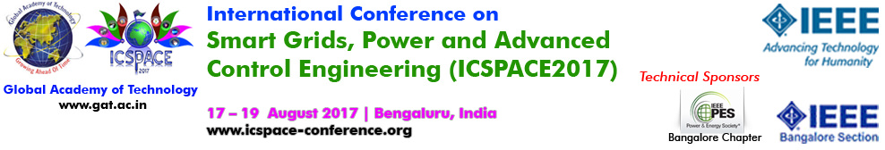 2017 International conference on Smart grids, Power and Advanced Control Engineering ( ICSPACE) Bangalore India Smart Grid