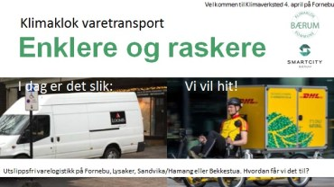 Klimaklok varetransport