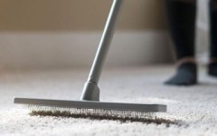 Rake for professional carpet cleaning service