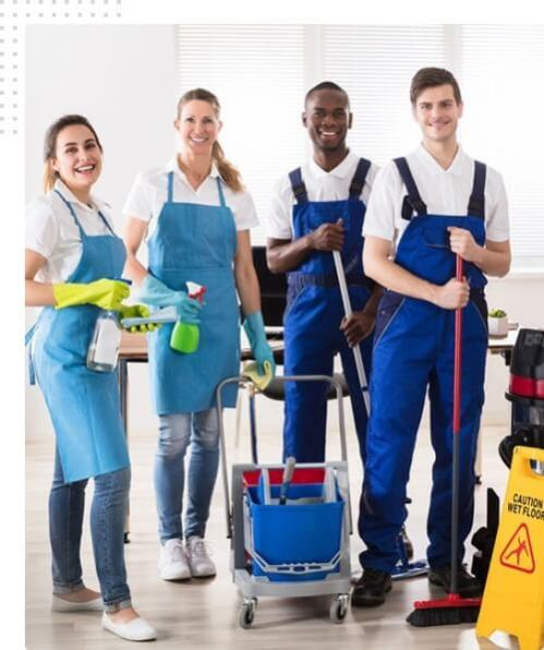 Local Cleaning Company team