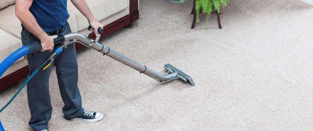 Carpet Cleaner with cleaning wand