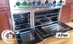 After Professional oven Cleaning