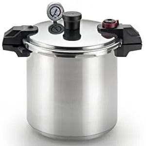 T-fal P31052 Polished Aluminum Pressure Canner