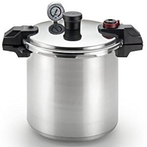 T-fal P31052 Polished Aluminum Pressure Canner