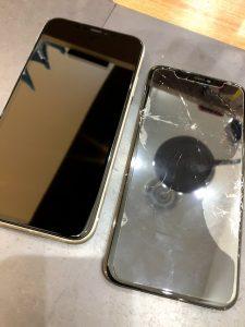 姉妹店修理速報 iPhone11 画面交換