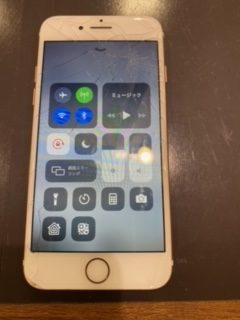 iPhone7 画面交換 【筑紫野市よりご来店】