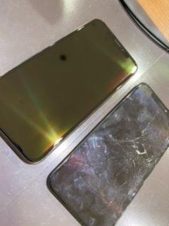 姉妹店修理速報 iPhoneXR 画面交換