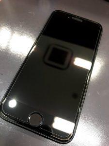 ガラスコーティングをしたiPhoneSE2