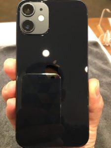 iPhone12miniの背面ガラスコーティング