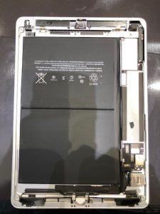 iPadAirのバッテリー交換