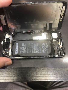 iPhone7水没復旧修理