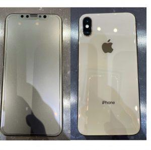 iPhoneX ガラスコーティング