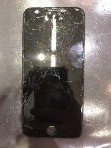 iphone8の画面割れ修理とガラスコーティング
