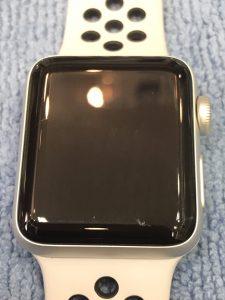 アップルウォッチのガラスコーティング加工