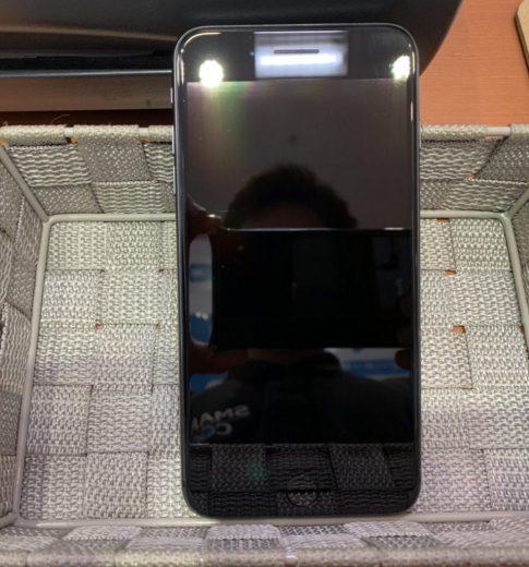 ガラスコーティング施工後のiPhone8