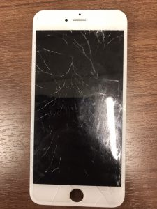 iphone6sの水没と画面割れ修理