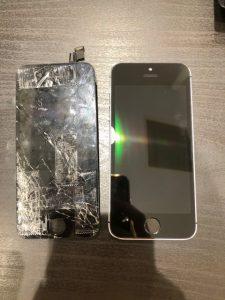 iPhone SE電池・画面交換
