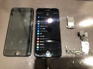 iPhone8ドックコネクタスピーカ修理