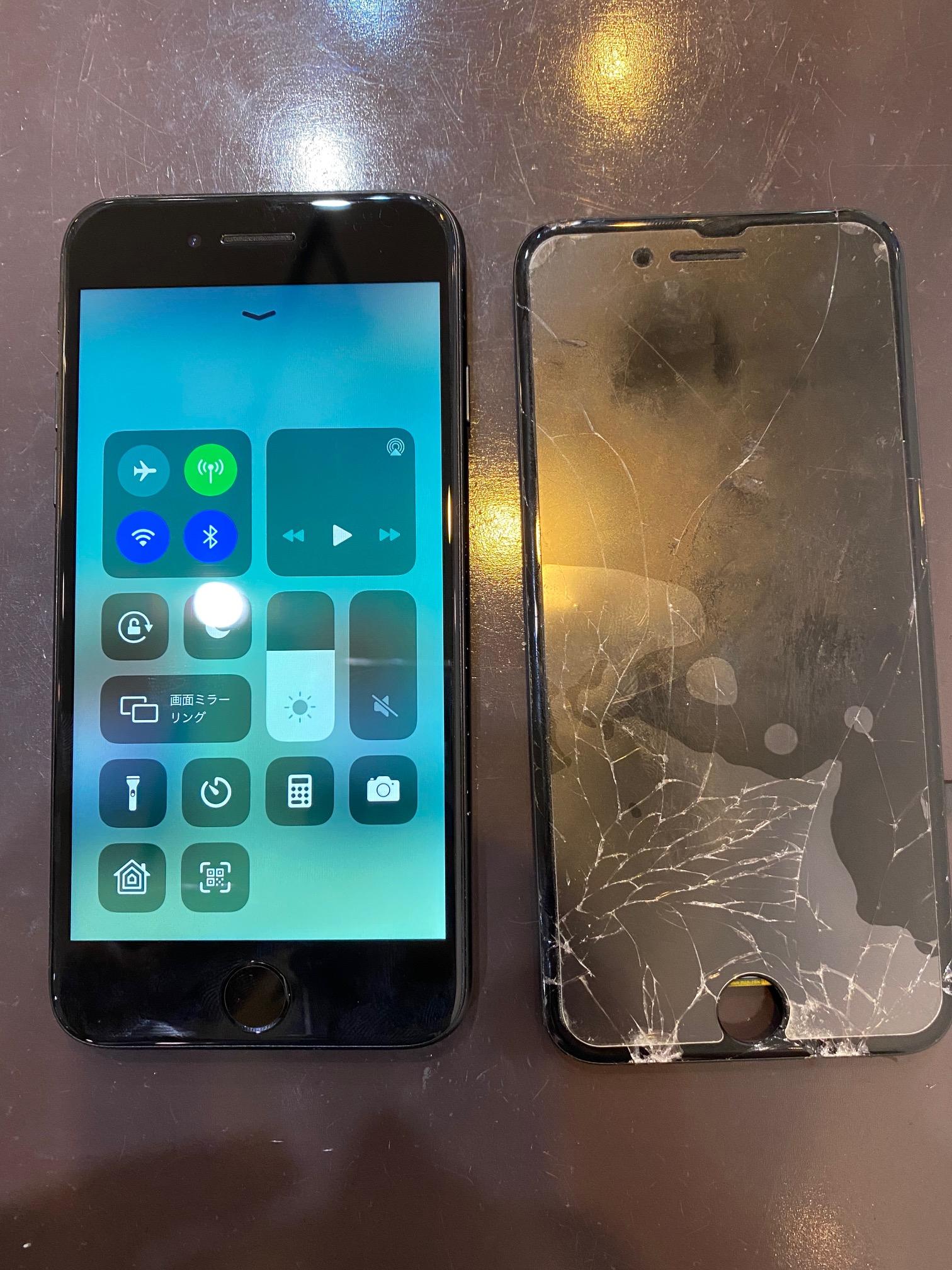 iPhone7 画面修理 宝塚からお越しのお客様 m