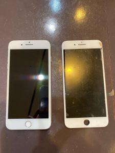 Iphone 8 画面 ガラス 割れ 破損 故障 修理 交換
