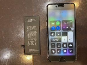 アイフォン7電池交換