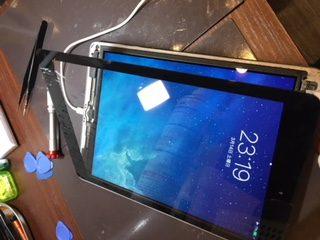 iPhoneのみならずiPadのお修理も承っております!データそのまま!iPadair画面交換バッテリー交換お任せください!iPhone修理伊丹、宝塚、川西、尼崎店 宝塚市安倉よりお越しのお客さま