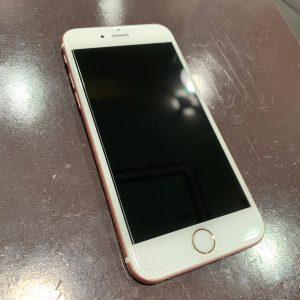ガラスコーティングを施工したiPhone