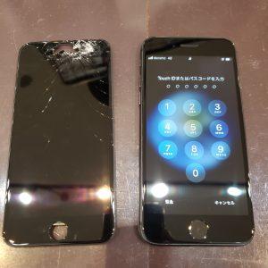 iPhone8画面修理