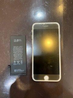 iPhone6s バッテリー交換 宝塚からお越しのお客様 m