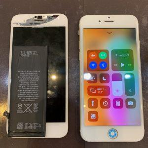 水没復旧作業を行ったiPhone6