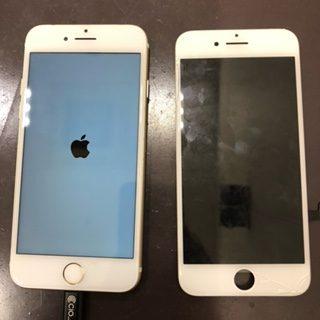 画面割れに潜む恐怖/iPhone6s/画面交換