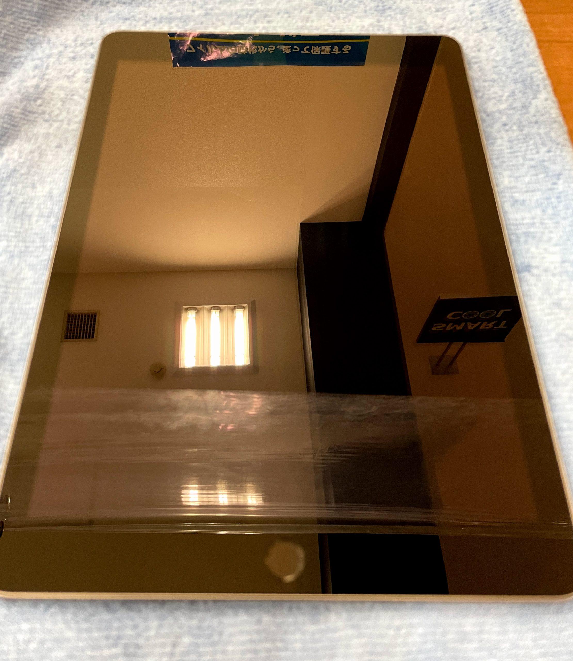 タブレットもガラスコーティングでピカピカに!/iPad/ガラスコーティング/博多区よりお越しのお客様