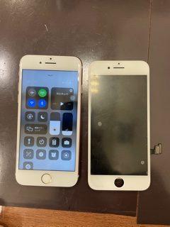 自分で修理したらまさか・・・😱/iPhone7/画面交換/ガラスコーティング