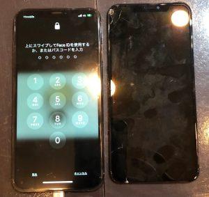 iPhoneX画面交換