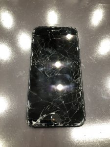 iPhone7/画面交換/直方市よりお越しのお客様