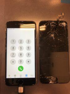 iPhone6s液晶交換