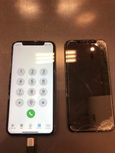 iPhoneXS液晶交換