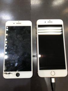 iPhone8Plus液晶交換